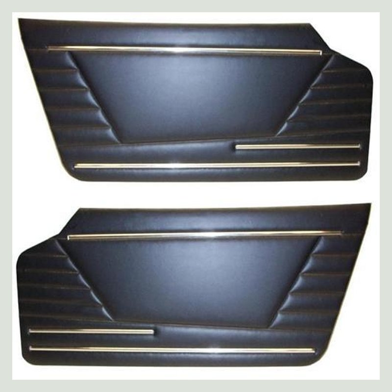 fiat 850 spider 2 coppia due pannello pannelli porta porte portiera portiere serie kit set door panels panel doors