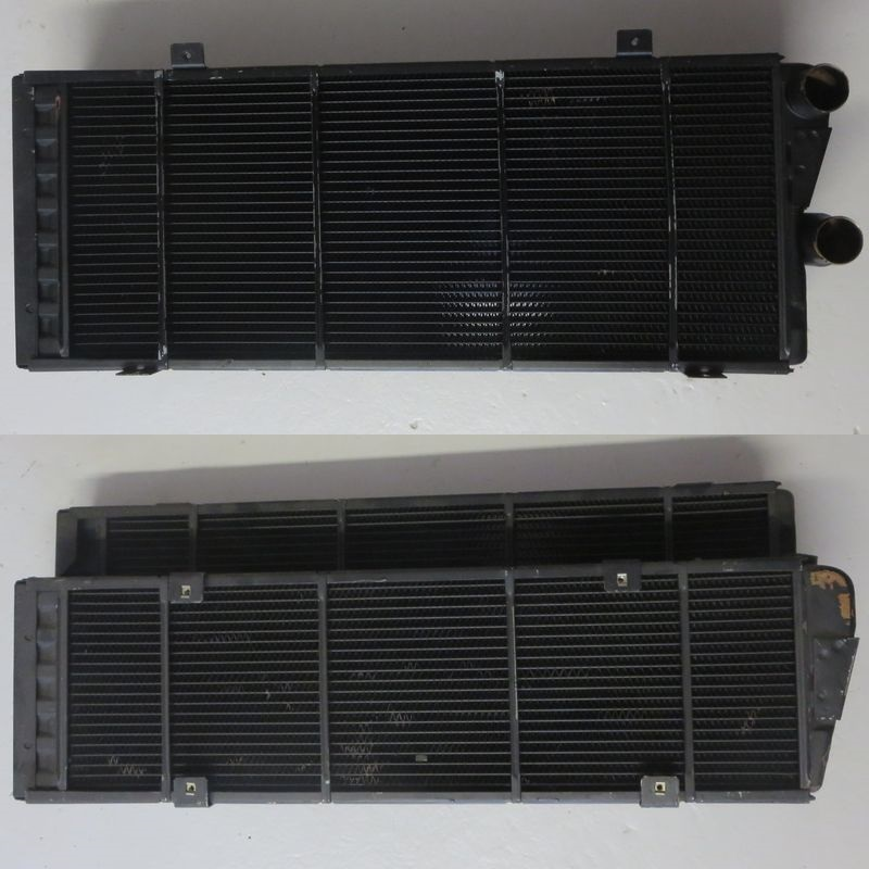 radiatore acqua water radiator maserati 3200 GT GTA Assetto Corsa 384000101 384000100